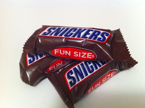 What Is Fun About Fun Sized Candy Forever Hungry